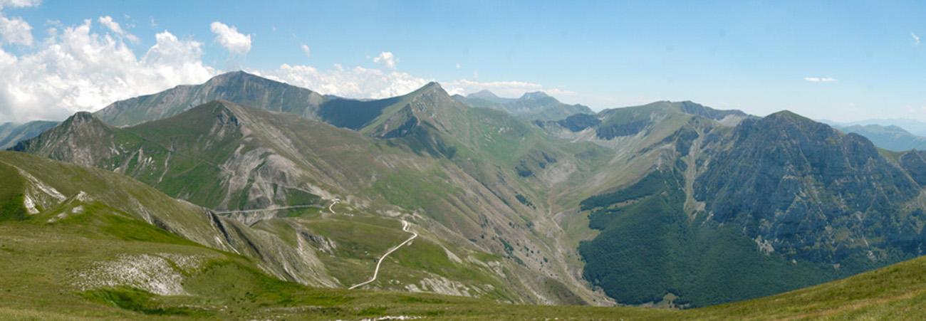 Monte Bove e la Val di Panico