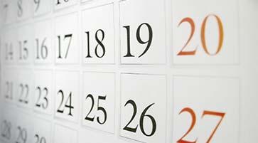 Calendario Annuale Attività