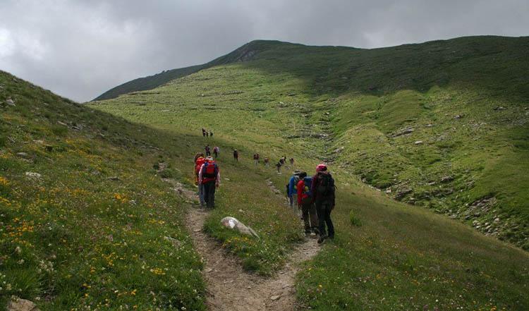 escursione alpinismo giovanile