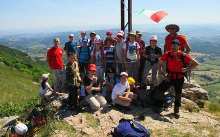 Razazzi Alpinismo Giovanile Perugia Monte Tezio