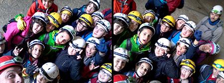 selfie Alpinismo Giovanile CAI Perugia