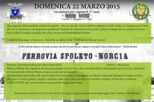 LOCANDINA SPOLETO - NORCIA
