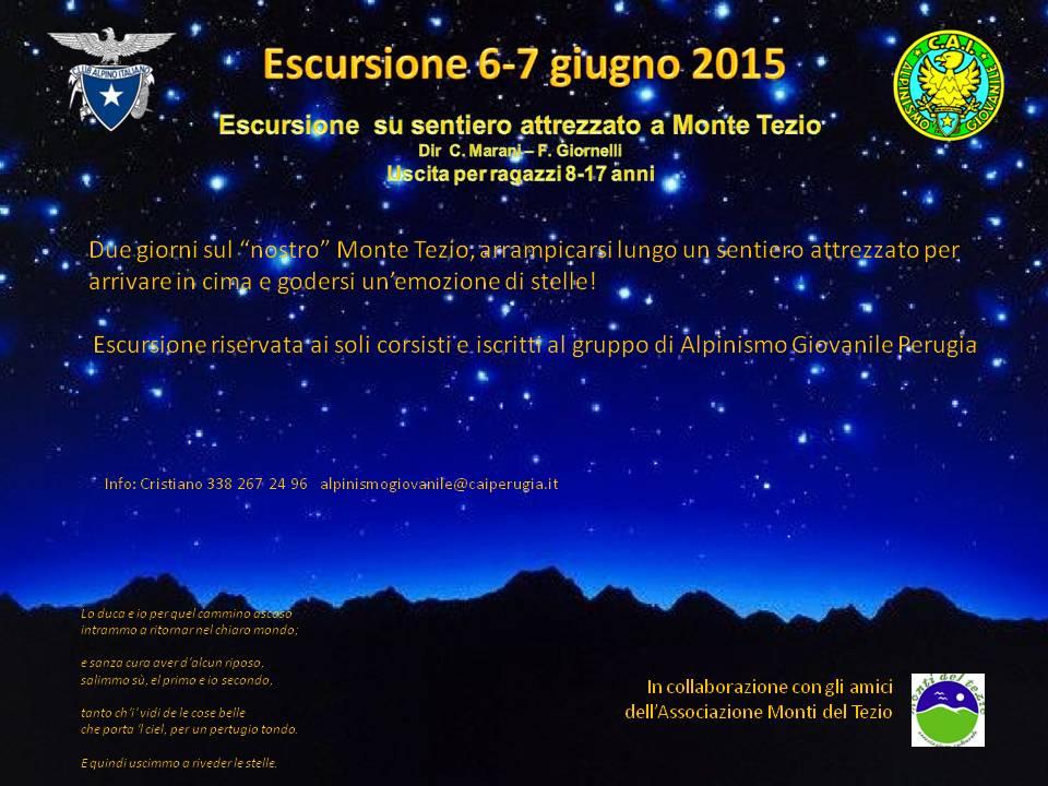 2015_06_06 Escursione Monte Tezio