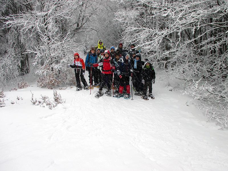Noi sotto la neve