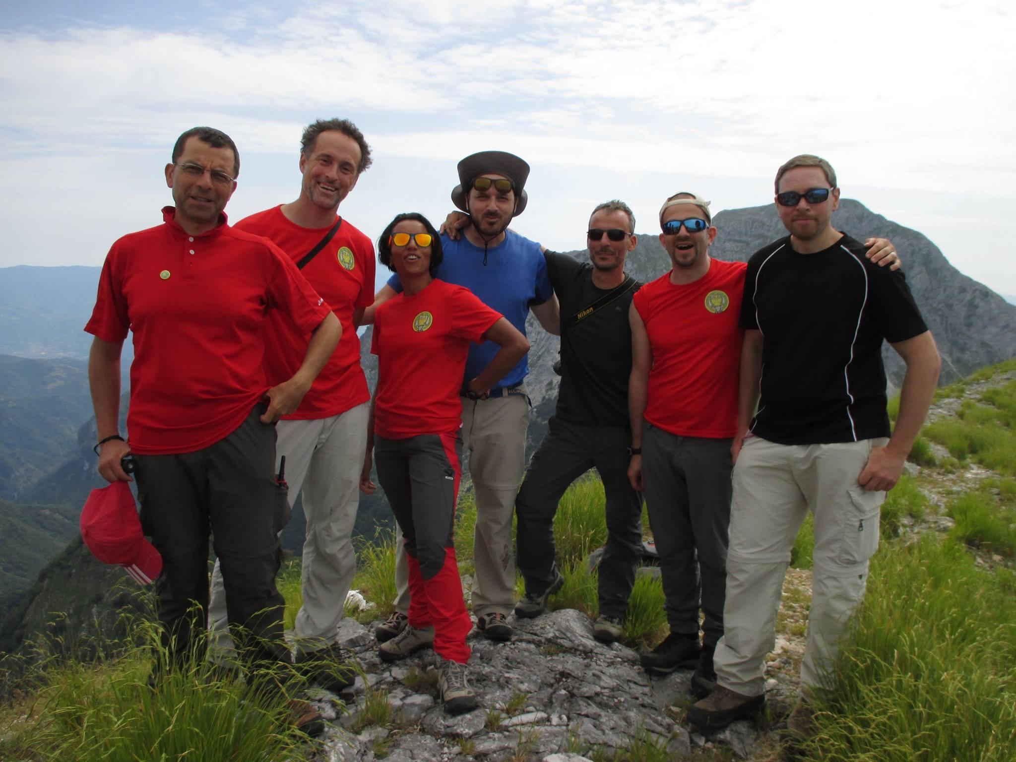 accompagnatori alpinismo giovanile perugia