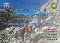 6° Corso Base di Alpinismo Giovanile